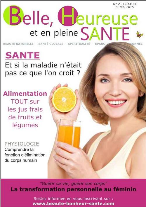 Magazine Belle Heureuse et en pleine santé